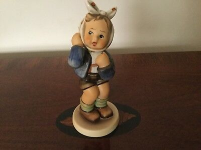 "Hummel Goebel Figurine ""BOY WITH TOOTHACHE"" 5-1/2"" Tall  #217  No Box"