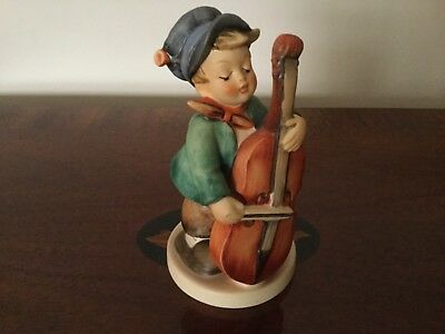 "Hummel Goebel Figurine ""SWEET MUSIC "" 5-1/2"" Tall #186 No Box-Boy with Cello"