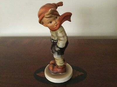 "Hummel Goebel Figurine ""MARCH WINDS"". 5"" Tall #43  No Box"