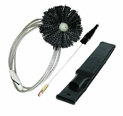 """10Ft. Dryer Lint Removal Kit 36"""" Duct Vent Brush Dirt Cleaning Tool 3 Piece Set"""