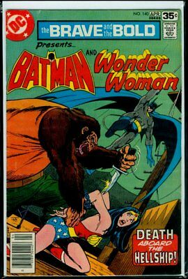 DC Comics The BRAVE And The The BOLD #140 BATMAN And WONDER WOMAN FN 6.0