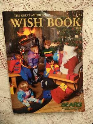 1992 SEARS CHRISTMAS CATALOG WISH BOOK,829 Pgs. LOADED WITH TOYS,DOLLS,GAMES