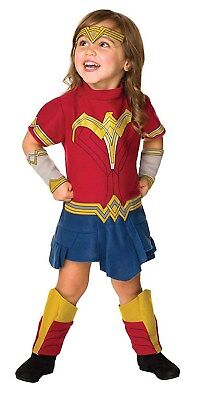 Justice League Wonder Woman Toddler DC Superhero Costume Romper-Todd