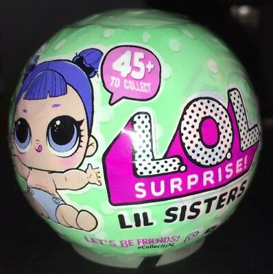 LOL L.O.L Surprise Dolls Series 2 Lil Sisters Ball lil outrageous littles WAVE 2