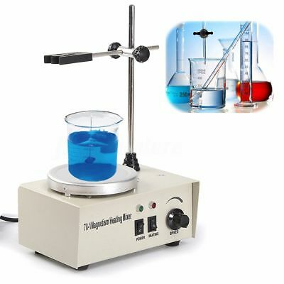 150W 220V 1000ML Magnetic Stirrer Mixer Machine w/ Heating Hot Plate Laboratory