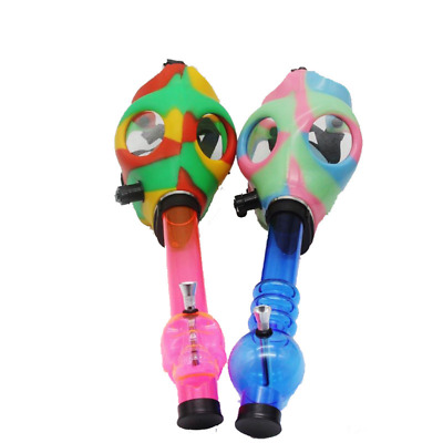 Party Novelty Hookah Gas Mask Water pipe with acrylic tube *BEST DEAL*