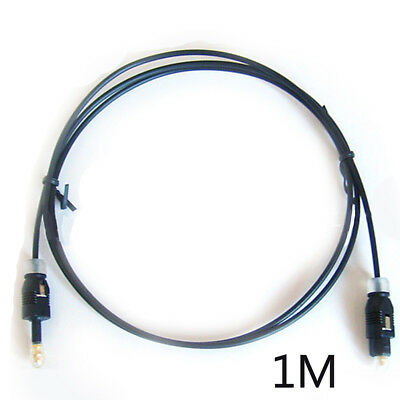 1M 3Ft 3.5mm Toslink Male to Mini Plug Male Digital Optical SPDIF Audio Cable