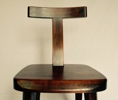 OLAVI HANNINEN ed NUPPONEN 1of3 Solid Wood Design Vintage Chair 1950 WWdelivery