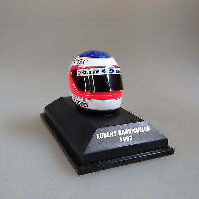 Pauls Model Art Minichamps Miniatur Helm Rubens Barrichello 1997 (45506)