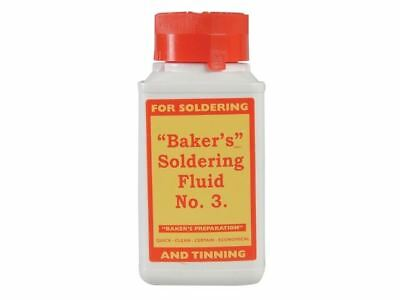 Bakers No.3 Soldering Fluid Flux for Soldering 125ml 61037