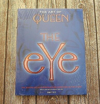 Queen  :  The Art Of Queen - The Eye - 1997 Book Including Cd-Rom - Still Sealed