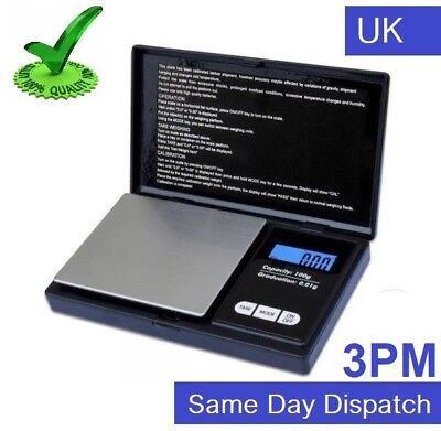 Mini Precision Digital Scale for Gold Silver Diamond Jewelry Pocket 0.01 to 100g