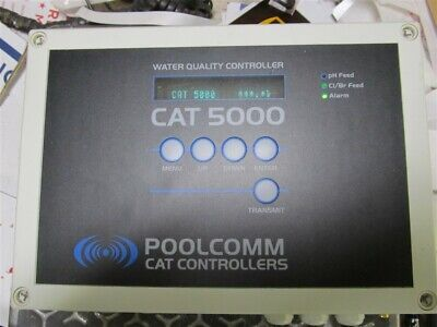 PoolComm CAT5000, Water Quality Controller, 115 vac, USED