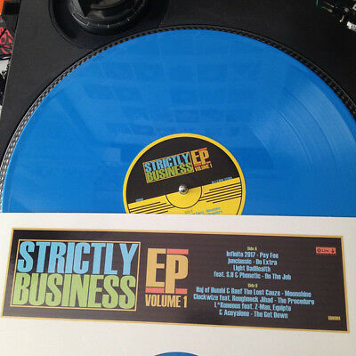 Strictly Business Ep Volume 1 - Hip Hop - Aceyalone - Roughneckjihad - Colour Vi