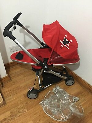 Quinny Zapp Extra Pushchair/Free P&P To Main Land U.K.