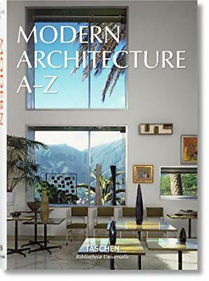Modern Architecture A-Z by Taschen | Hardcover Book | 9783836556316 | NEW