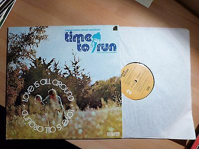 """12"""" LP - Love is all Around - Time to Run - Tedd Smith (11 song)"""