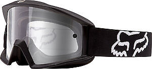 Fox Racing Main 2017 MX/Offroad Goggles Matte Black/Clear