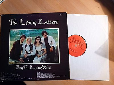 """12"""" LP - Xian - The Living Letters - Sing the Living Word  (11 Songs)"""