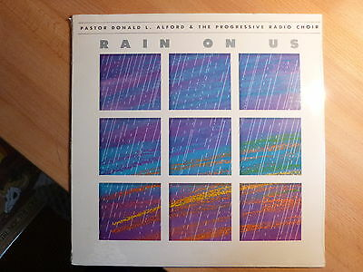 """12"""" LP Xian - Pastor Donald L. Alford - Rain on Us (9 Songs) Sealed OVP"""