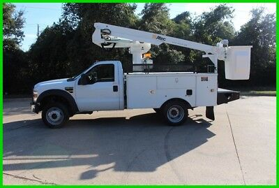 2008 Ford F450 WHITE Used 40 FOOT BUCKET