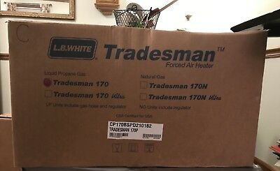 L.B White Tradesman 170P Portable Heater