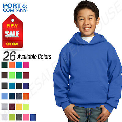 Port & Company Youth Core Fleece Pullover Hooded Sweatshirt M-PC90YH