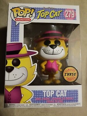 Funko Pop Hanna Barbera Top Cat Limited Edition Chase Figure New 279