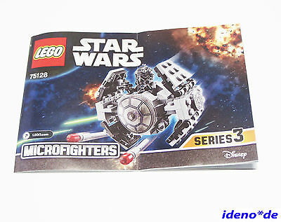 Lego Building Instruction Star Wars 75130 Microfighters At Dp New No