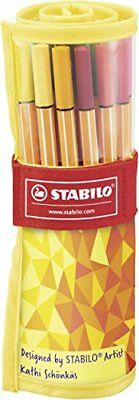 "STABILO Fineliner point 88, 25er Rollerset ""Fan Edition"""