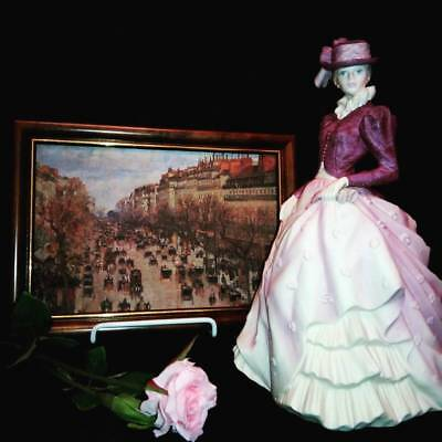 Coalport Figure Hyde Park - Age of Elegance Series