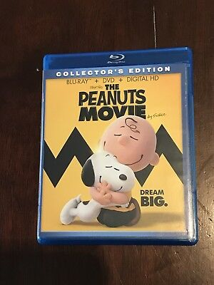 The Peanuts Movie (Blu-ray Disc Only, 2016) *No Digital or DVD* Never Used! New!