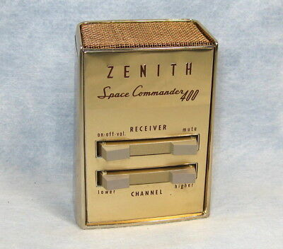 Vintage ZENITH SPACE COMMANDER 400 TV Remote w/ Original Bag Pouch