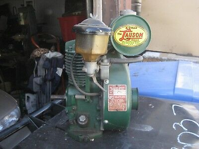 Vintage Lauson Small Engine Motor - New Holstein WI - TYPE: RSH899FMT RSH 899
