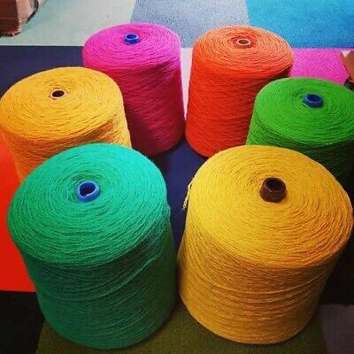 Wool Nylon Axminster Yarn Rug Making Weaving Tapestry Needlepoint 250g *Batch 3*