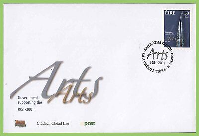 Ireland 2001 Arts Issue on First Day Cover