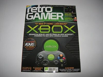 Retro Gamer Issue 174 : 40 YEARS ATARI / XBOX / RYGAR / SINCLAIR RESEARCH / CBFD