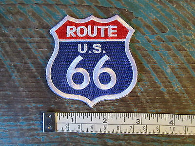 Route 66 Us Shield Patch Usa He Mother Road Califorina Chicago Kansas Texas Ok