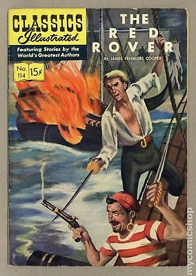 Classics Illustrated 114 The Red Rover #1 1953 VG/FN 5.0