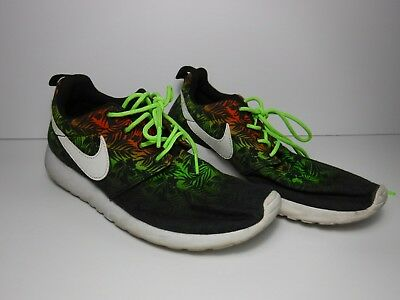 size 40 1b4ac 320a1 Nike Roshe Run Tropical Print Ombre Running Shoe size 6Y