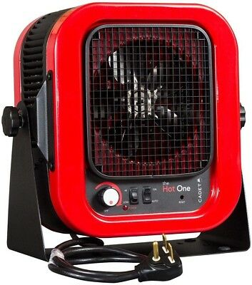 CADET The Hot One 5000-Watt 240-Volt Electric Garage Portable Heater ...