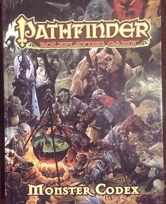 Pathfinder Roleplaying Game Monster Codex Roleplaying Book (2014, Hardcover)