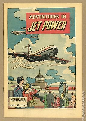 Adventures in Jet Power General Electric giveaway 1961 VF- 7.5