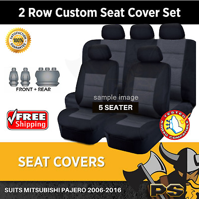 Mitsubishi Pajero Tailor Made Seat Covers 2006-2016 NS NT NW NX