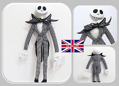 "Nightmare Before Christmas Jack Skellington 50cm/20"" Plush Doll Xmas UK Seller"