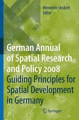 Guiding Principles for Spatial Development in Germany - 9783540888383 PORTOFREI