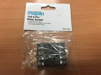 Maplin 10A 8-Pin Relay Socket