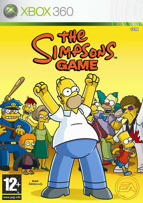 The Simpsons Game XBOX 360 jeux jeu games spellen spelletjes 4137