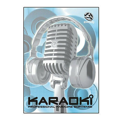 PCDJ Karaoki Pro Karaoke PC Software Professional or Home Use + Songbook Maker