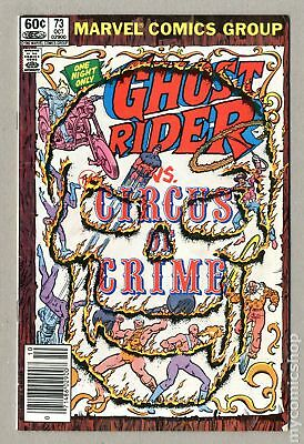 Ghost Rider (1st Series) Mark Jewelers #73MJ 1982 VG/FN 5.0 Low Grade